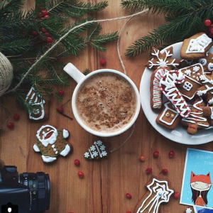 Christmas Cookies and Chocolate. The temptations of Christmas!
